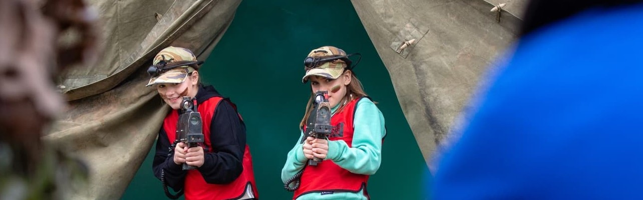 Best Outdoor Activity In Gloucestershire Laser Tag Near Me